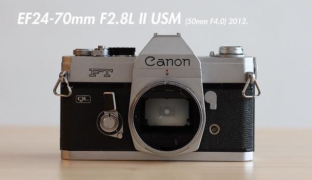 EF24-70mm F2.8L II USM (50mm F4.0)