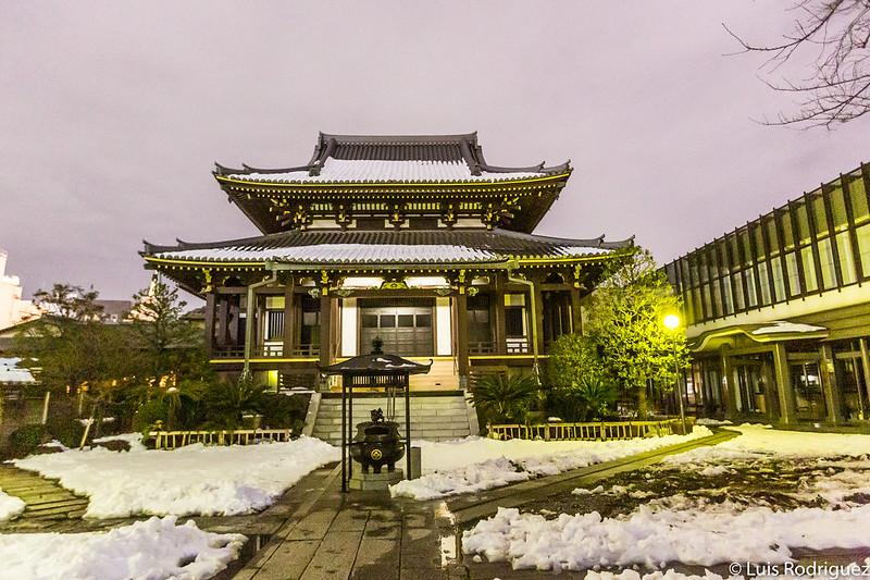 Salón principal del templo Zenkoji de Omotesando