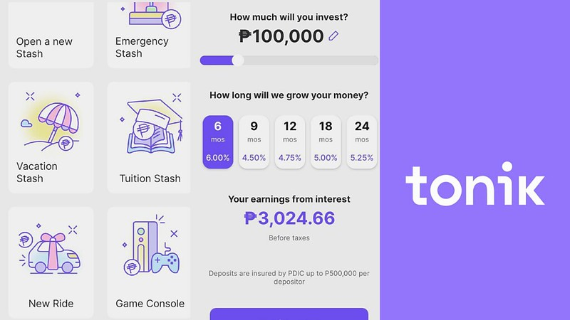 Tonik Digital Bank: How to Open Account, Interest Rates + Cash In / Cash Out Fees