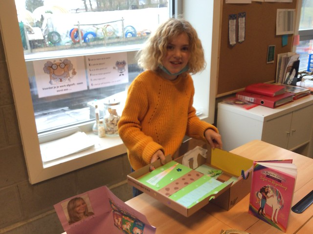 5de leerjaar - Boekenbeurs: Book in a box