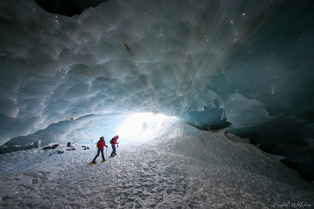 Into the Cave of Arolla