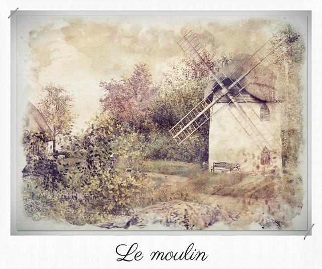 LUANE'S WORLD PHOTO CONTEST Spring 2021  - (Le moulin)