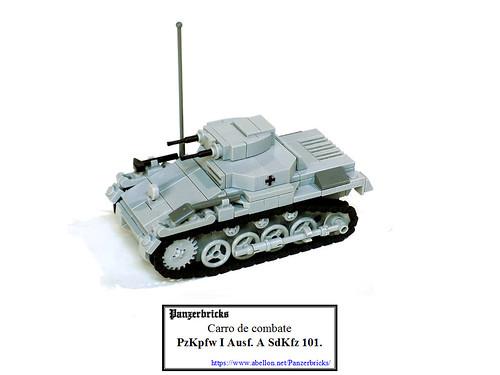 Panzer I SdKfz 101 Ausf A de Panzerbricks