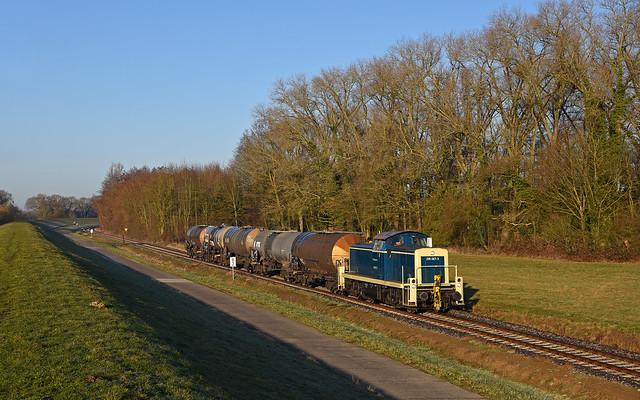 DB Cargo Railsystems 295 067-3 - Fahrenholz