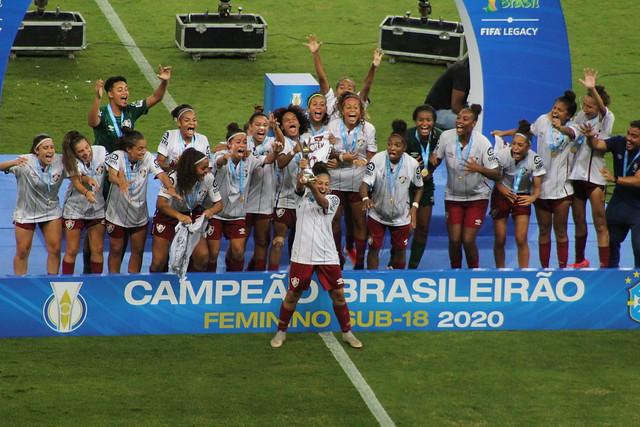 Brasileiro Feminino Sub-18 - Inter 4 (6) x (7) 1 Fluminense