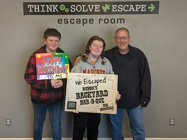 Think Solve Escape:  Bubba's Backyard Bar-b-que and Brouhaha