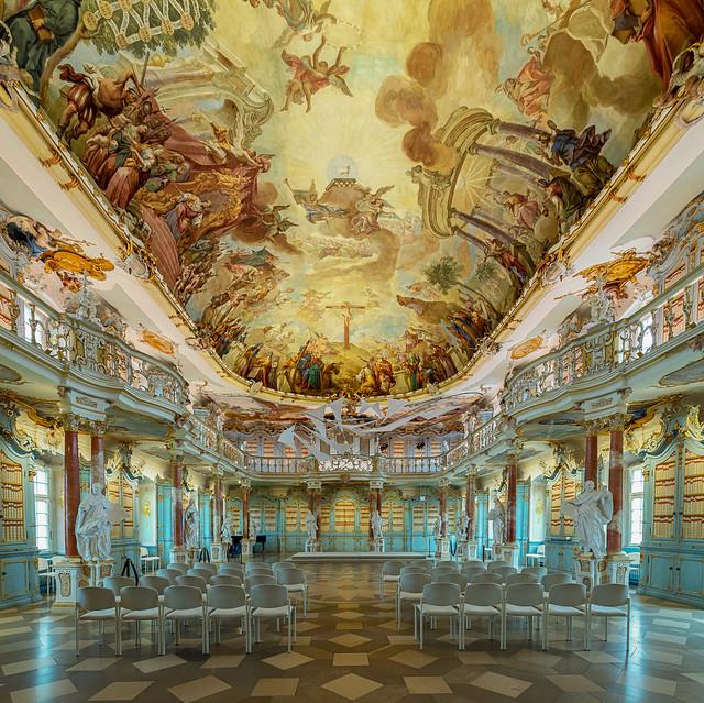 Bibliothekssaal Kloster bad Schussenried