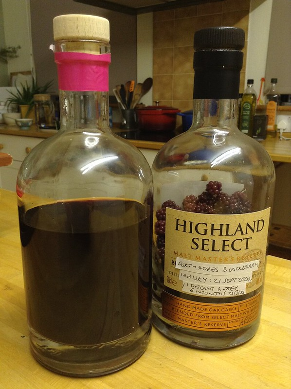Blackberry Whisky Decanted