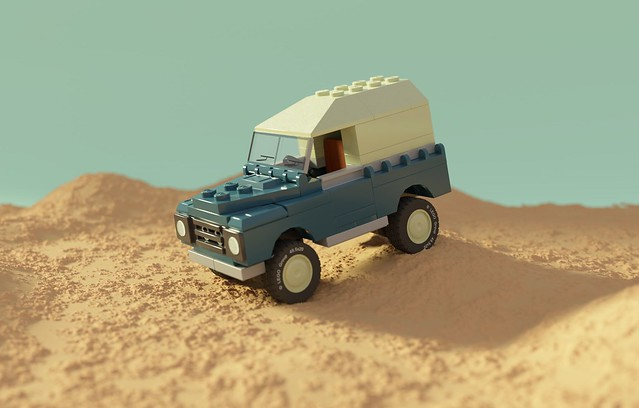 Series 3 Land Rover V8 SWB
