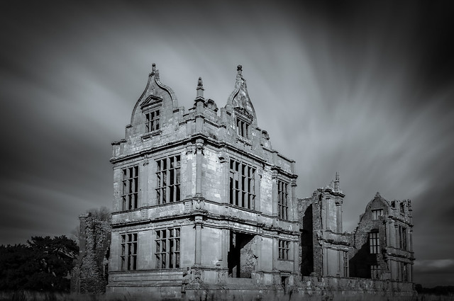 Moreton Corbet Castle (Long Exposure)