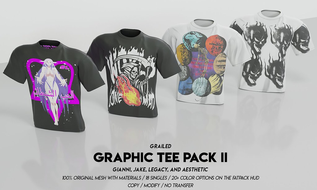 Graphic Tee Pack II