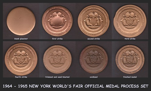 NEW YORK WORLD'S FAIR PROCESS SET REV UAFQ