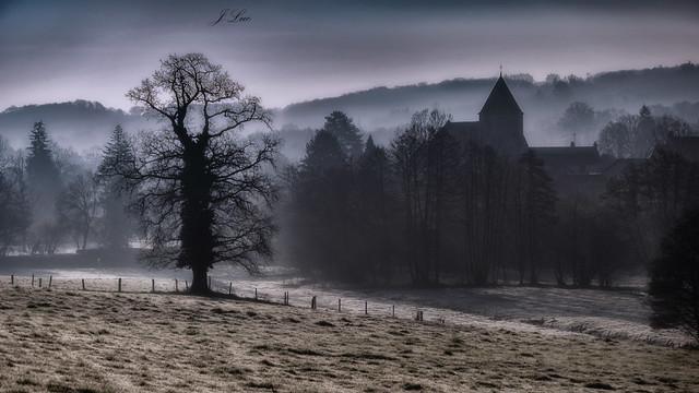 Dans la brume matinale ....