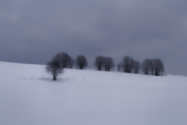 Norwegian winter landscape