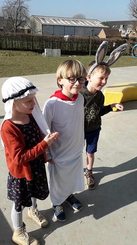 1ste leerjaar - Godsdienst: Palmzondag