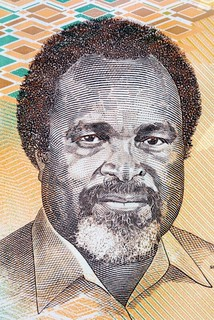 Michael Somare banknote portrait