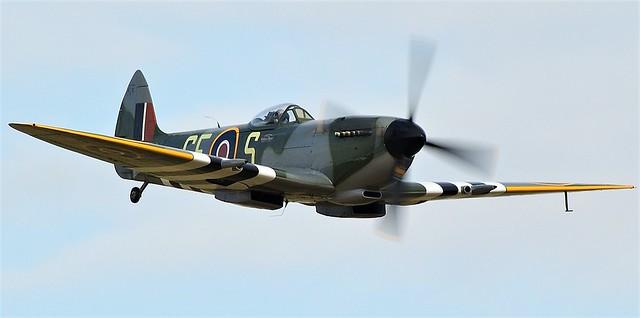 RAFSupermarine Spitfire Mk-XVI  SL721 OGE-S GE-S