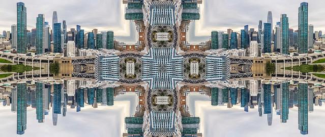 upper deck skyline kaleidoscope