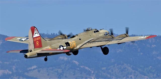 B17 Flying Fortress Nine-O-Nine NL93012 231909 Last Military Serial 42-31909 USAAF