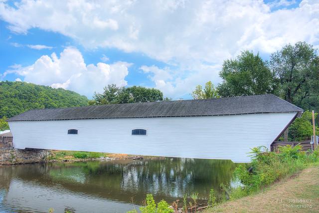 Elizabethton Covered Bridge - Doe River - Elizabethton, Tennessee