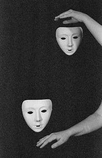 Composition with masks | by Alena Shminke