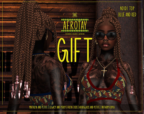 [AFROTAY] Ndidi Top GG March
