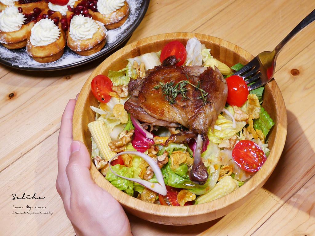 台北輕食咖啡廳RAYCA COFFEE中山區早午餐排餐好吃大份量早午餐甜點蛋糕沙拉雙連站 (3)