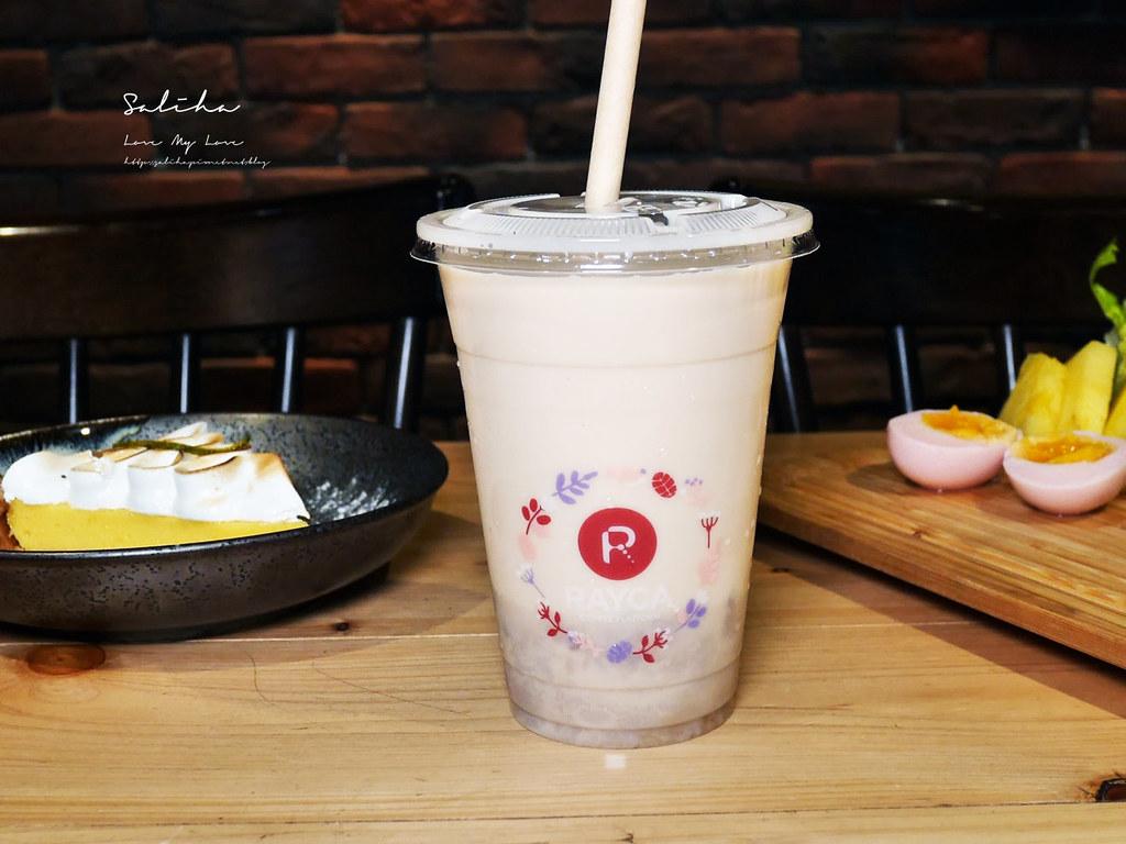 台北中山站附近餐廳推薦RAYCA COFFEE雙連站平日不限時餐廳可久坐適合看書咖啡廳早午餐 (1)