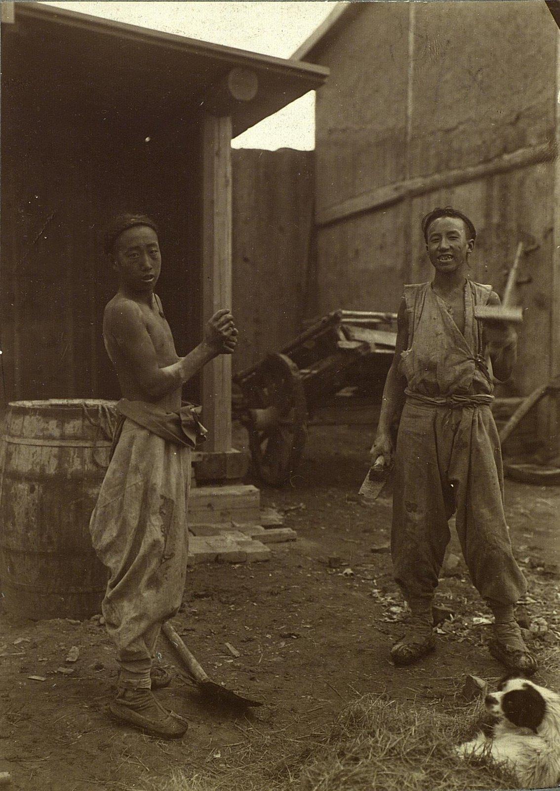 Китайские каменщики