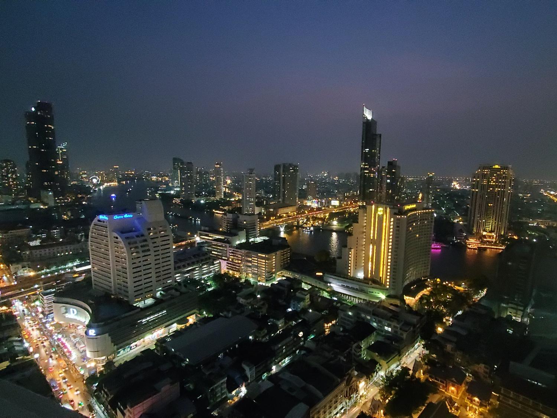Bangkok view at night