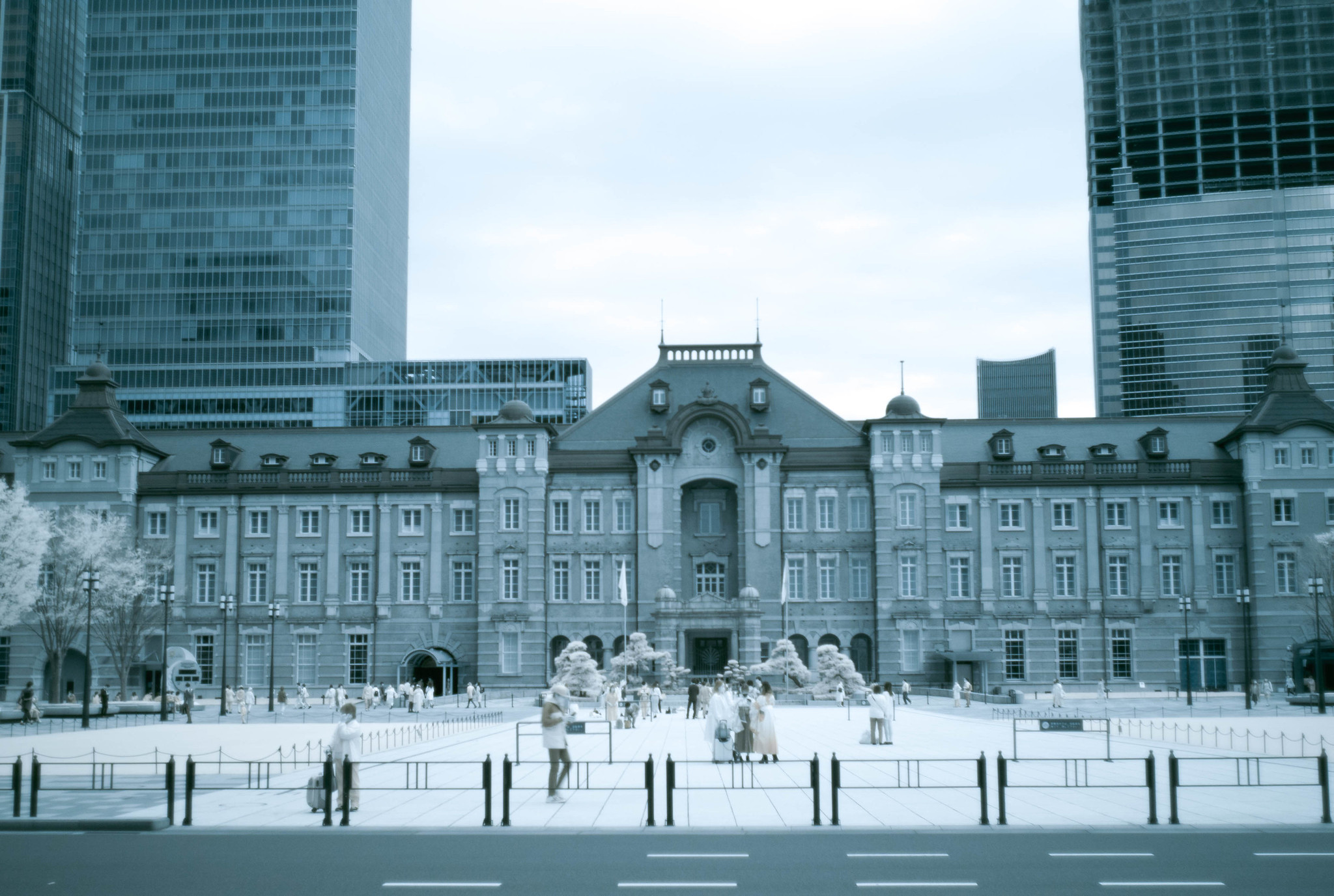 Tokyo Station(infrared photography)