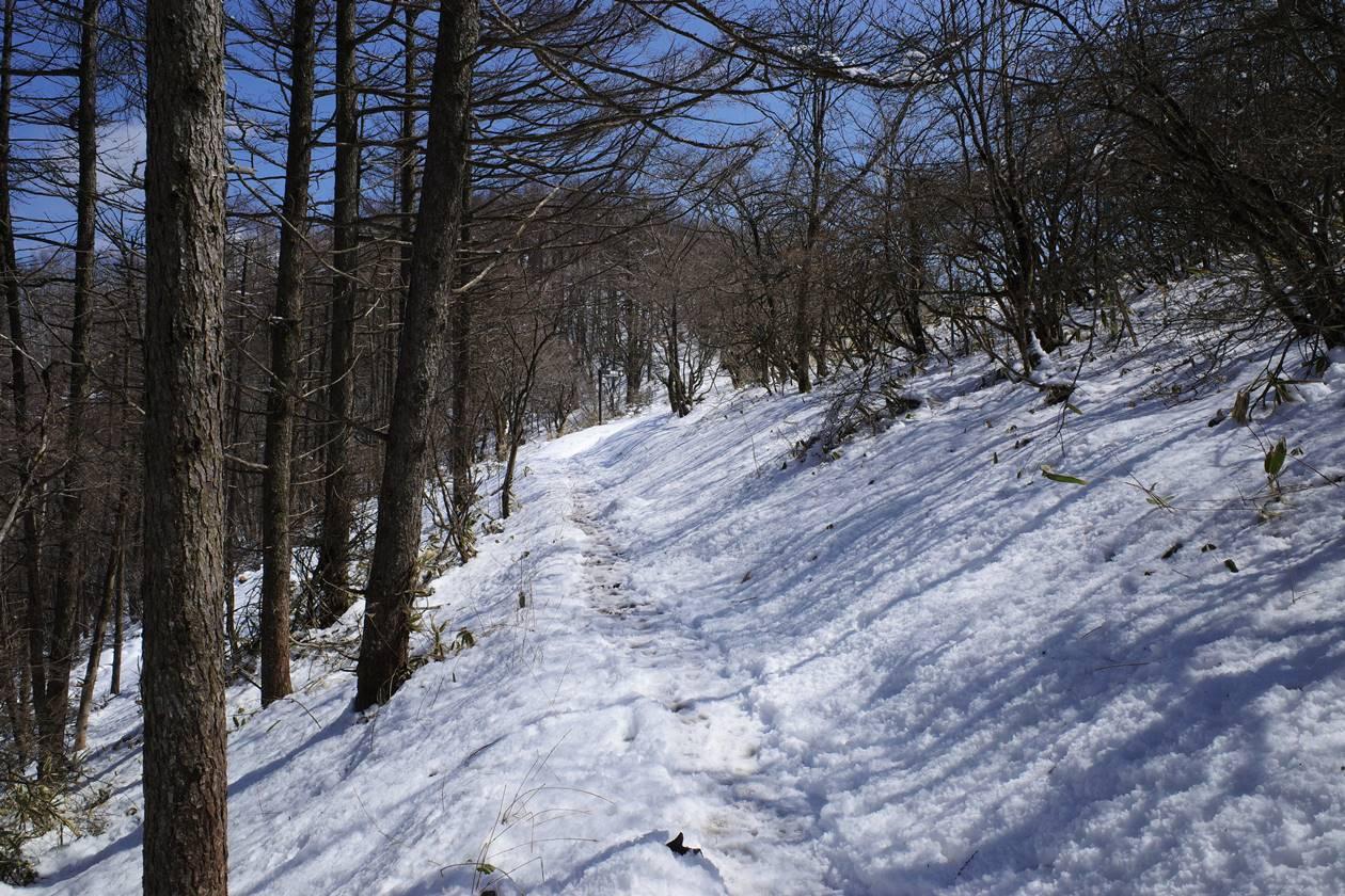 飯盛山~平沢山 雪山登山