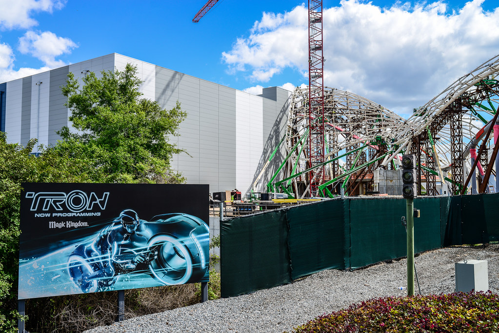 Tron billboard construction MK
