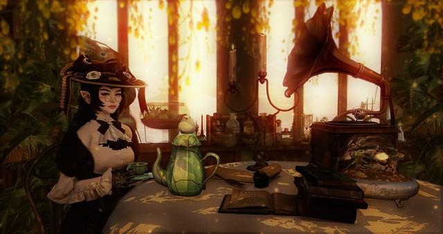 Engine room - Tea Party