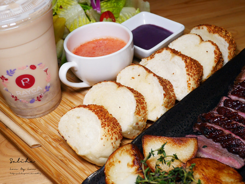 台北雙連站咖啡廳推薦RAYCA COFFEE餐點美味早午餐甜點餐點厲害好吃平價法式料理可久坐 (3)