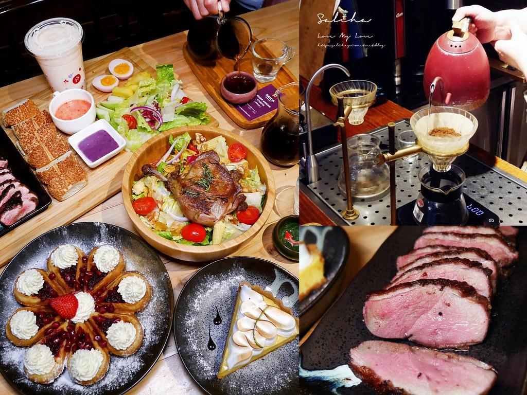 台北適合約會的咖啡廳RAYCA COFFEE法式甜點中山區雙連站餐廳排餐沙拉輕食早午餐 (4)