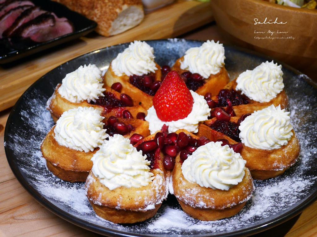 台北好吃鬆餅甜點咖啡廳推薦RAYCA COFFEE草莓甜點台北IG甜點好吃早午餐 (1)