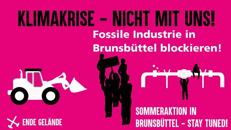 Kleingruppenaktion Brunsbüttel März 2021