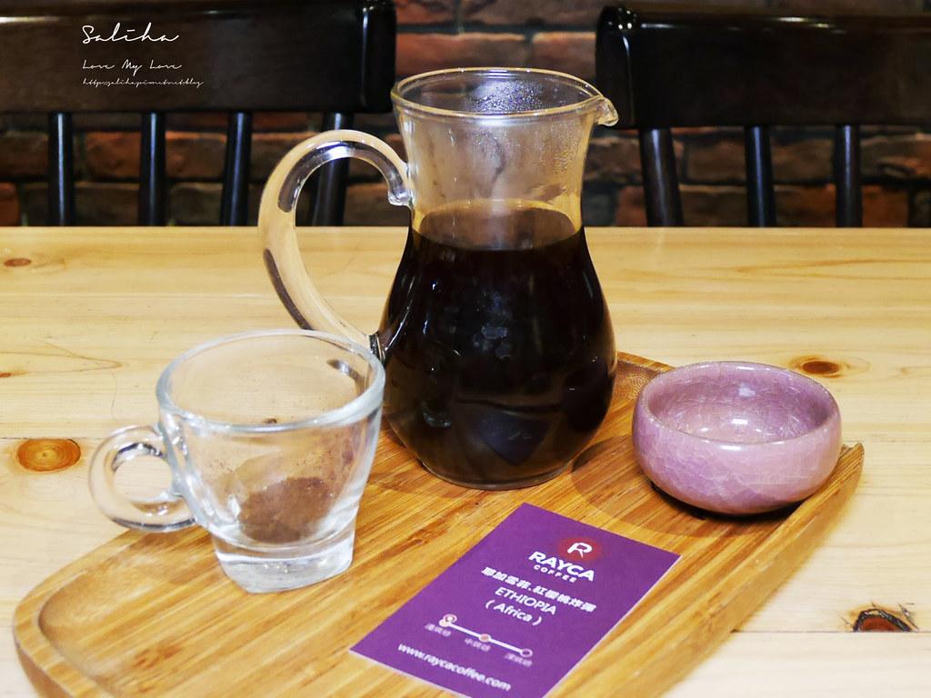 台北咖啡廳推薦RAYCA COFFEE中山區下午茶雙連站餐廳美食好吃早午餐甜點輕食平價咖啡廳 (2)