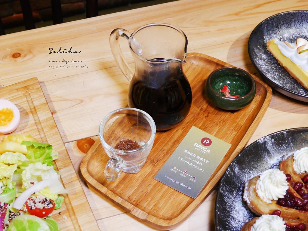 台北咖啡廳推薦RAYCA COFFEE中山區下午茶雙連站餐廳美食好吃早午餐甜點輕食平價咖啡廳 (1)