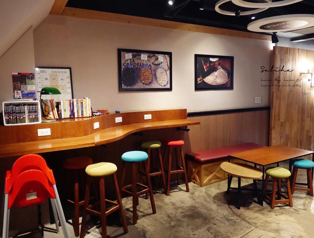 台北有插座咖啡廳RAYCA COFFEE中山站雙連站餐廳推薦可久坐早午餐適合聊天看書 (1)