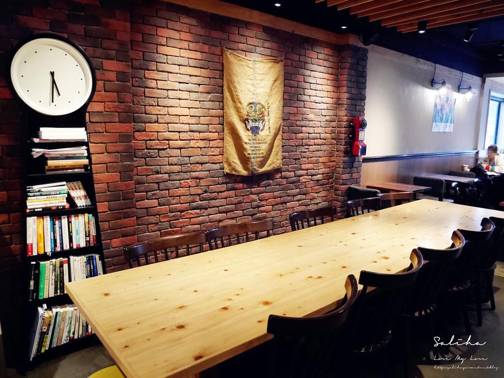 台北中山站雙連站不限時咖啡廳推薦RAYCA COFFEE下午茶早午餐好吃可久坐閱讀甜點蛋糕 (2)