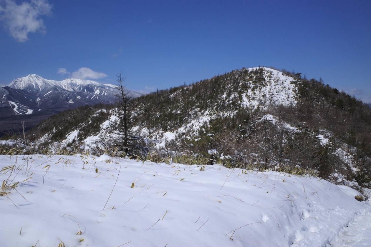 平沢山と八ヶ岳