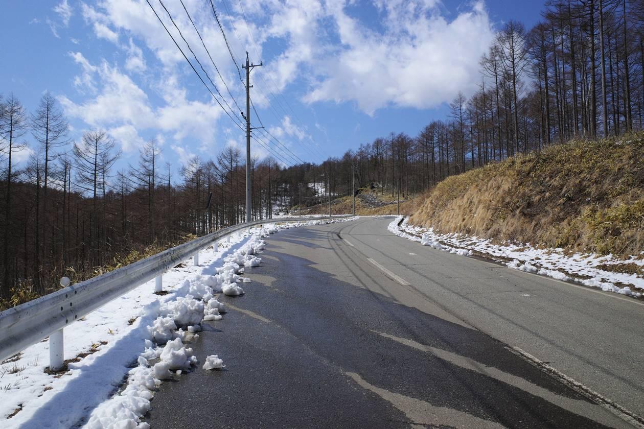 野辺山駅から平沢峠へ