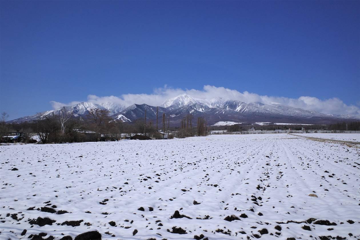 野辺山駅から眺める八ヶ岳