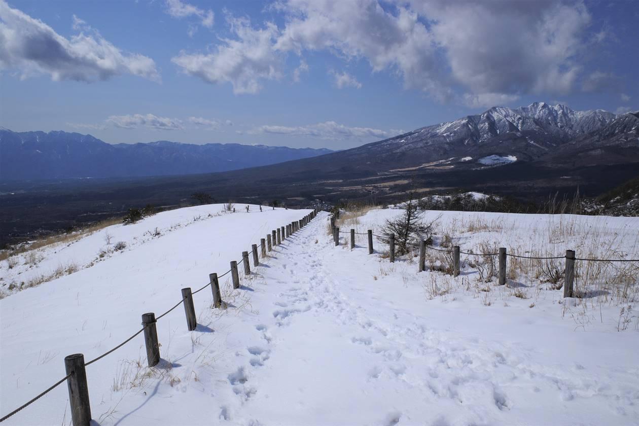飯盛山・見晴台から下山