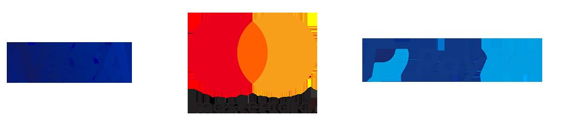 moyen de paiement fr : visa, mastercard et paypal