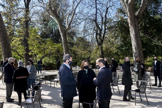 Encuentro en el Botánico con Manuel de La Rocha