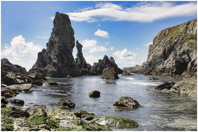 AIGUILLES DE PORT COTON - Belle Ile En Mer - Brittany - France