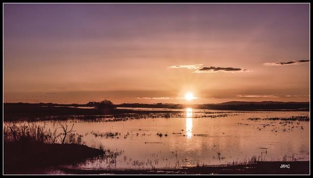 Puesta de sol en las Tablas (Canon G5XM2)